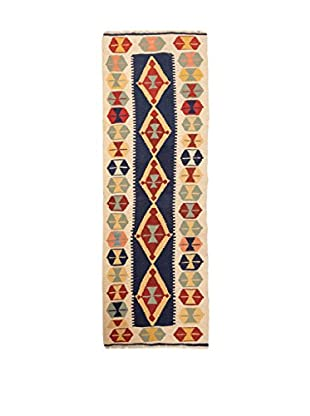 RugSense Alfombra Persian Kashkai Azul/Multicolor 205 x 61 cm