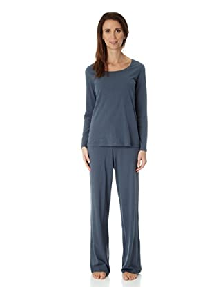 Hanro Pyjama lA Cotton Cashmere (Grau)
