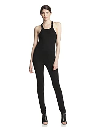 Rick Owens Women's Knee Detail Legging (Black)