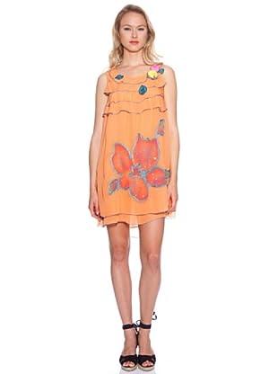 Isabel Morgado Vestido Picassent (Naranja)