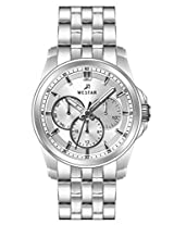 Westar Analog Silver Dial Men's Watch 5612STN107