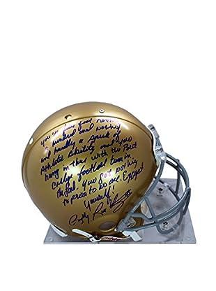 Steiner Sports Memorabilia Rudy Ruettiger Signed Notre Dame Authentic Helmet