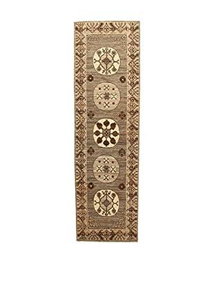 Design Community By Loomier Teppich Bamiyan braun/beige 86 x 297 cm