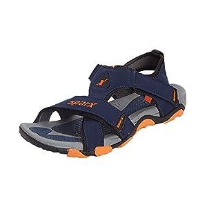 Sparx SS-416 Men's Sandals - Blue-Orange