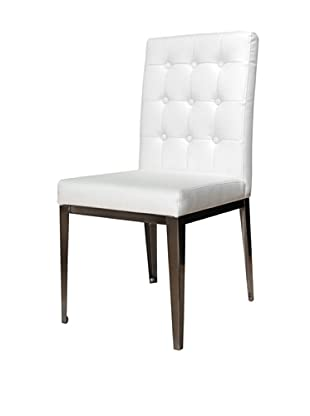 Star International Set of 2 Salon Dining Chairs, White