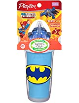 Playtex PlayTime Straw Sippy Cup, Super Friends, 9 Ounce