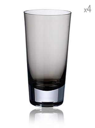 Villeroy & Boch Longdrinkglas Colour Concept 4 Stk. (rauch)