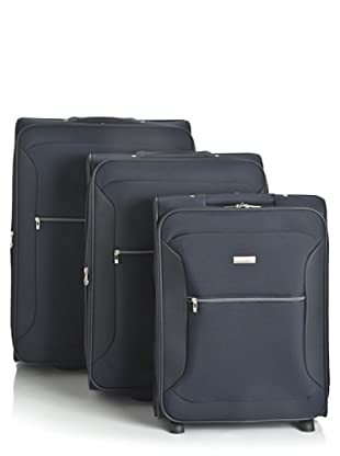 Roncato Set 3 trolley 2 ruote (Blu)
