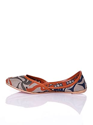 Sigris Zapato Líneas Variadas (Gris)
