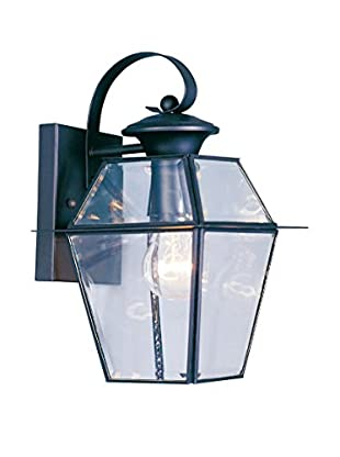 Crestwood Walden 1-Light Wall Lantern, Black