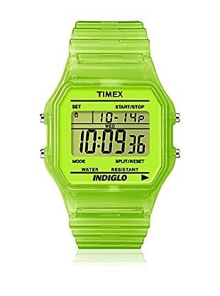 TIMEX Reloj de cuarzo Unisex Unisex Classic Verde 35 mm