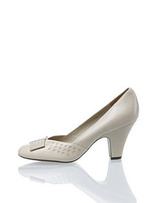Clarks Bowes Palace 20349493, Scarpe col tacco donna (Beige (Beige (Bone Leather)))