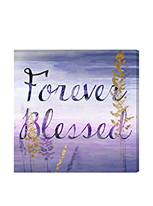 Oliver Gal Artist Co. Forever Blessed Lilac, Multi, 20