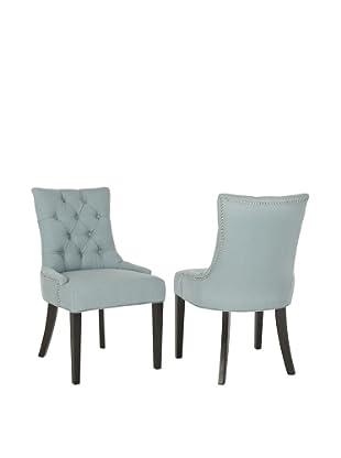 Safavieh Set of 2 Ashley Kd Side Chairs, Sky Blue