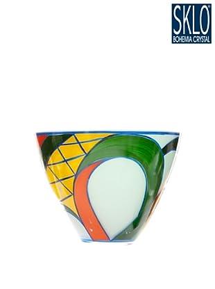 Cristal de Bohemia Centro Aztec Mediano