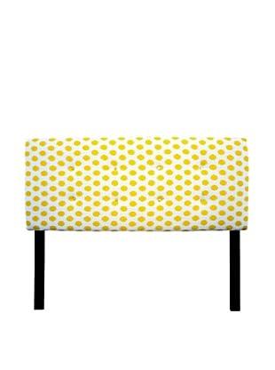 Sole Designs 8-Button Tufted Jojo Headboard (Yellow/White)