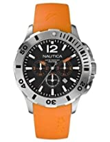 Nautica BFD 101 Orange and Black Mens Watch N16567G