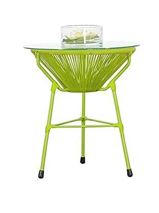 Jeffan Scoop Side Table, Green