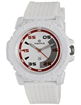 Maxima Analog White Dial Men's Watch - 12029PPGW