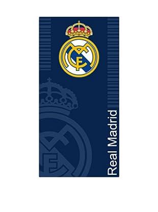Art Experience Toalla de Playa Escudo Real Madrid (Azul)