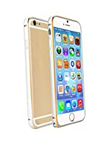 Celson Dual Tone Bumper For Apple iPhone 6S Plus - Silver