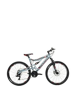 MOMA BIKES Bicicletta Btt 27.5 Alu Full Susp. Full Disc 24V Equinox L-Xl Grafite