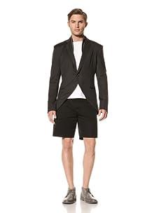 Rochambeau Men's Vepar Blazer (Charcoal With Ash Grey)