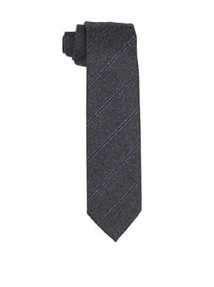 Desanto Men's Diagonal Stripe Scozia Tie, Grey