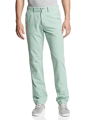 Original Paperbacks Men's Bayside Canvas Flat Front Pant (Seafoam)