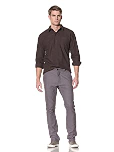 Comune Men's Raul Fitted Chino (Grey)