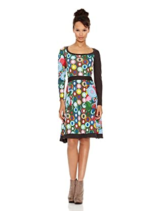Desigual Vestido Green (Multicolor)