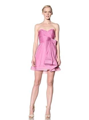 ABS by Allen Schwartz Women's Strapless Flounce Skirt Dress (New Mauve)