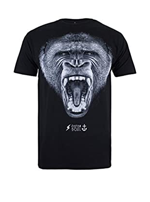 COTTON SOUL Camiseta Manga Corta Gorilla