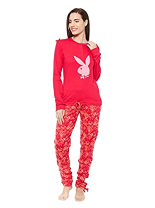 PLAYBOY Nightwear Pijama Cute Girl Cozy Nights