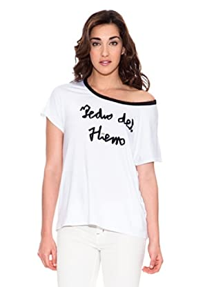 Pedro del Hierro Camiseta Logo (Blanco)