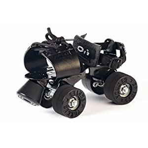 Yonker Adjustable Skates (Blacken Synthetic / Rubber Wheel)