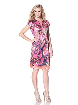 T Tahari Women's Christina Dress (Lovely in Pink)