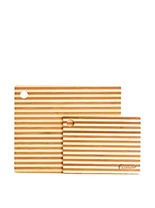 BergHOFF 2-Piece Bamboo Prep Board, Natural