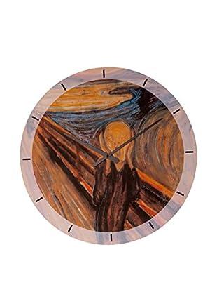 Artopweb Reloj De Pared Munch The Scream