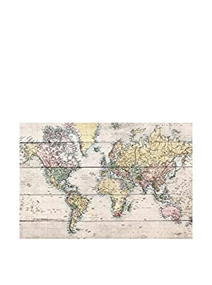 Little Nice Things Holztafel Worldmap