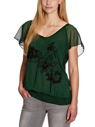 Desigual Camiseta 27B2307 (Verde)