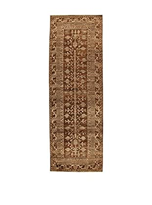 Design Community By Loomier Teppich Bamiyan braun 101 x 300 cm