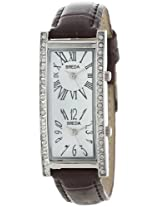 Breda 2185_brown For Women Analog-Digital Casual Watch