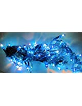 ASCENSION Set of 2 Rice lights Serial bulbs decoration lighting for diwali christmas - BLUE