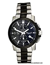 Kenneth Cole Chronogragh Black Dial Stainless Steel Mens Watch-IKC9099