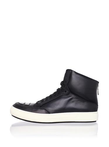 Alejandro Ingelmo Men's Jeddi Hi-Top Sneaker (Black/black)