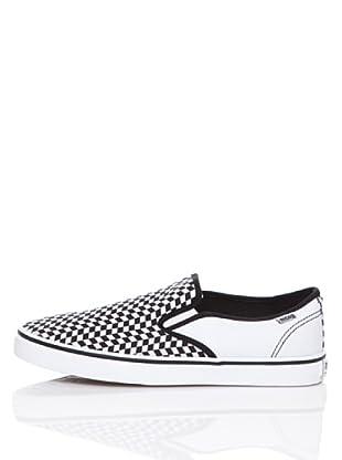 MTNG Zapatillas Elástico (Negro / Blanco)