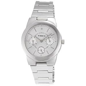 Timex E-Class Analog Silver Dial Women's Watch - J103