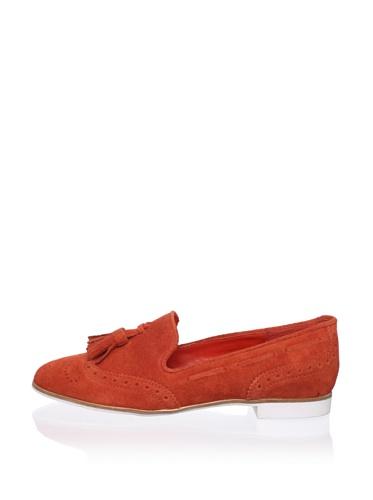 DV by Dolce Vita Women's Marcel Loafer (Orange/Red)