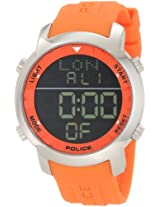 Police Digital Black Dial Men's Watch - PL-12898JS/02I